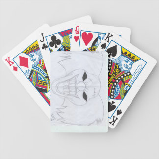 murderous clown bicycle playing cards