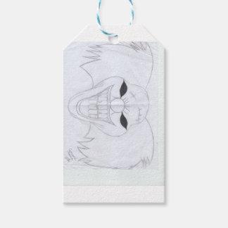 murderous clown gift tags