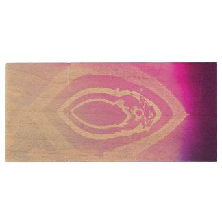 Murmor☆Eyes In Disguise Wood USB Flash Drive