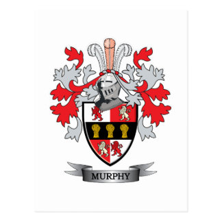 Murphy Coat of Arms Postcard