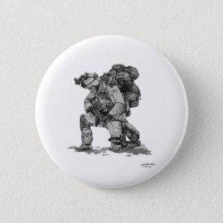 Murphy Elliott-Praying Soldier 6 Cm Round Badge