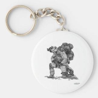 Murphy Elliott-Praying Soldier Key Ring