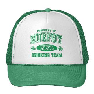 Murphy Irish Drinking Team Cap