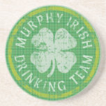 Murphy Irish Drinking Team Coaster