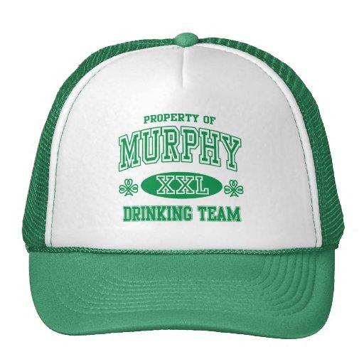 Murphy Irish Drinking Team Mesh Hats