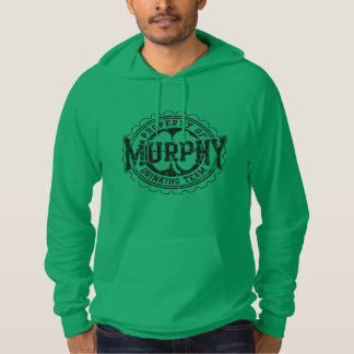 Murphy Irish Drinking Team Vintage Fade Hoodie