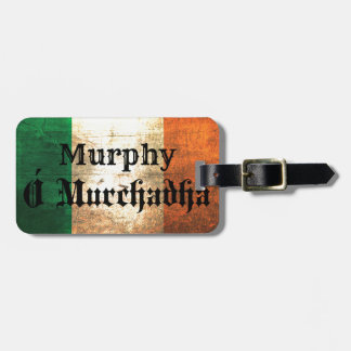 Murphy Irish Flag Bag Tag