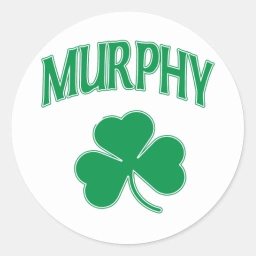 Murphy Irish Stickers