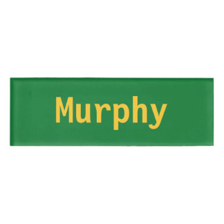 Murphy Name Tag