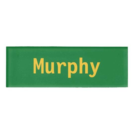 Murphy Name Tag Zazzle Com Au
