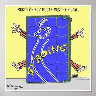 Murphy's Law Cartoon 2342 Poster