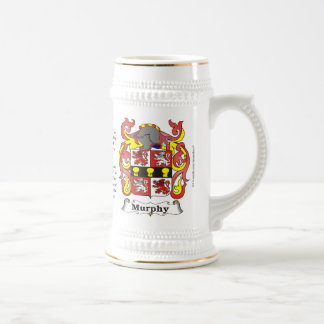 Murphy, the Origin, the Meaning and the Crest Beer Stein