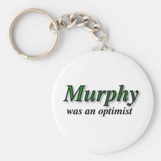 Murphy was an optimist - Murphy's Law Key Ring