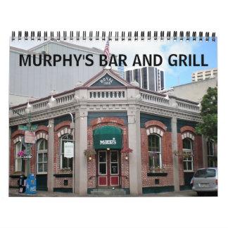 Murphy's Bar and Grill Calendar