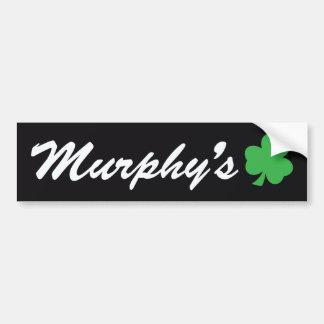 Murphy's Bumper Sticker