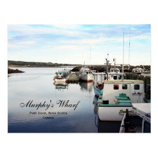 Murphy's Wharf Postcard