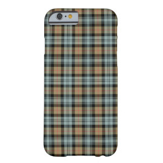 Murray Clan Tan and Mint Green Reproduction Tartan Barely There iPhone 6 Case