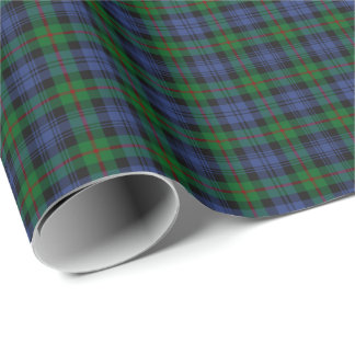 Murray Clan Tartan Wrapping Paper
