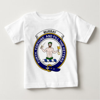 Murray (of Athole) Clan Badge Baby T-Shirt