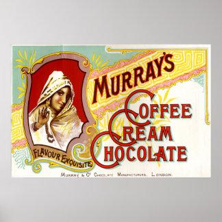 Murrays Coffee Cream Chocolate Print