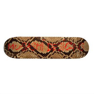 Musashi Designs Snakeskin Skateboards