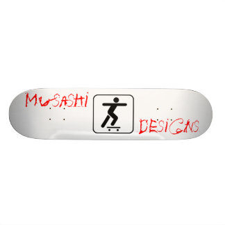 Musashi Designs Stickpusher Skate Boards