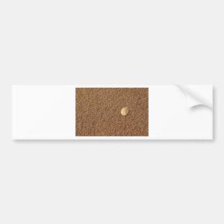 Muschel im Sand Bumper Sticker