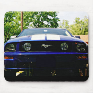Muscle car-blue Mousepad