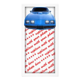 Muscle Car Customized Photo Card