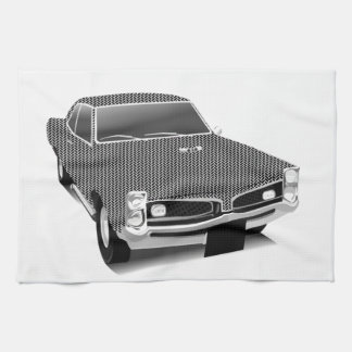 Muscle car hand towels