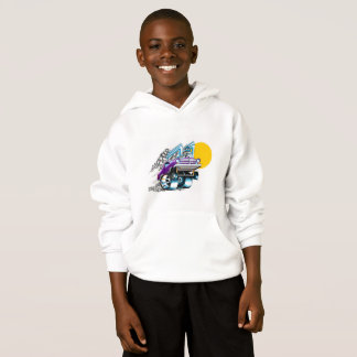 Muscle Car Hoodie for Boys