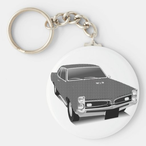 Muscle car keychain
