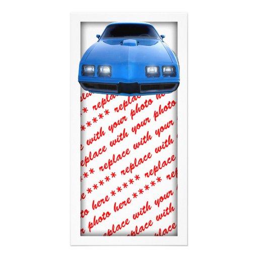 Muscle Car Photo Card