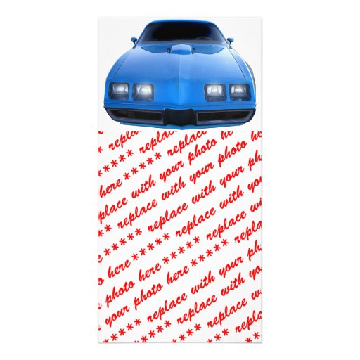Muscle Car Photo Greeting Card