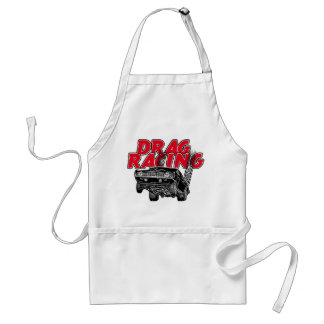 Muscle car racing standard apron