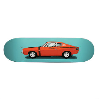Muscle Cars - Charger 20.6 Cm Skateboard Deck
