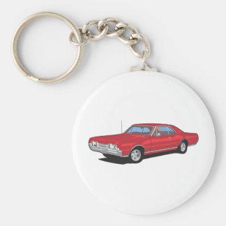 Muscle Cars Key Chain