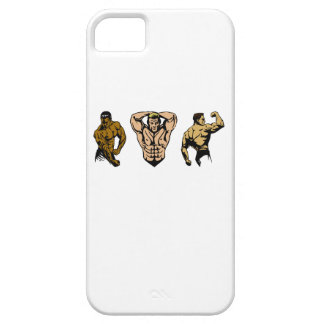 Muscle Crew - Strike a Pose iPhone 5 Cover