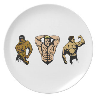 Muscle Crew - Strike a Pose Plate
