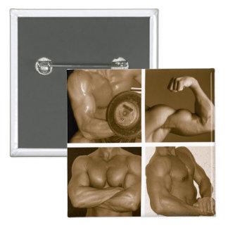 Muscle Flex www AriesArtist com Pin