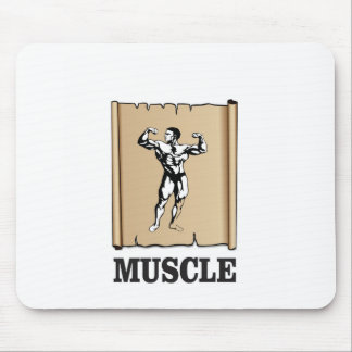 muscle form meat mouse pad