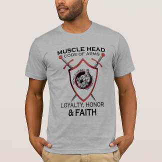 Muscle Head Code of Arms T-Shirt