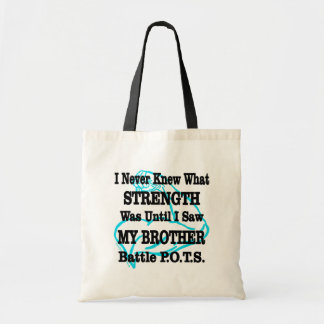 Muscle/I Never Knew...Brother Tote Bag