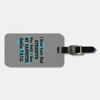 Muscle/I Never Knew...Daughter Luggage Tag