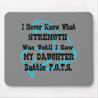 Muscle/I Never Knew...Daughter Mouse Pad