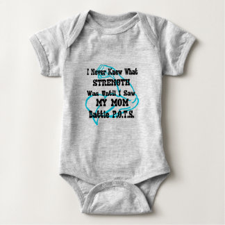 Muscle/I Never Knew...Mom Baby Bodysuit