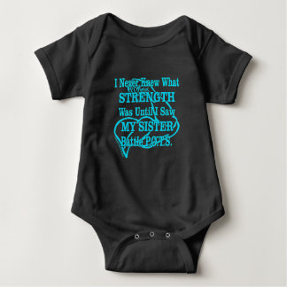 Muscle/I Never Knew...Sister Baby Bodysuit