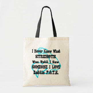 Muscle/I Never Knew...Someone I Love Tote Bag