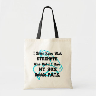 Muscle/I Never Knew...Son Tote Bag