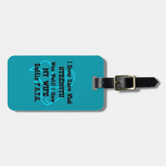 Muscle/I Never Knew...Wife Luggage Tag